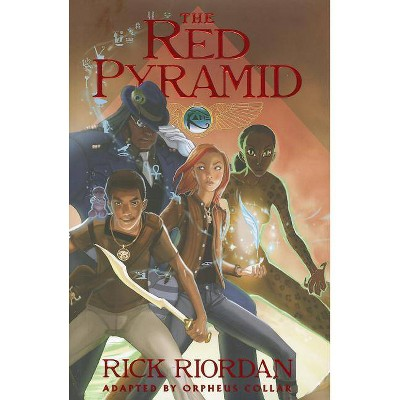 The Red Pyramid: The Graphic Novel - (Kane Chronicles Graphic Novels) by  Rick Riordan & Orpheus Collar (Hardcover)