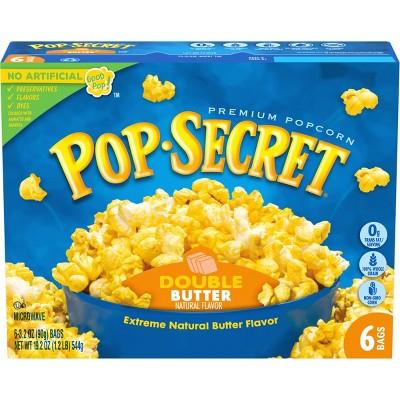 Pop Secret Double Butter Microwave Popcorn - 6ct