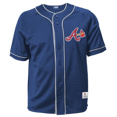 MLB Atlanta Braves Men's Button-Down Jersey