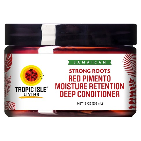 Tropic Isle Living Jamaican Strong Roots Red Pimento Moisture Retention Deep Conditioner - 12oz - image 1 of 3