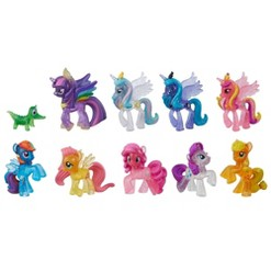 My Little Pony Toy Rainbow Road Trip Collection 10 Pack