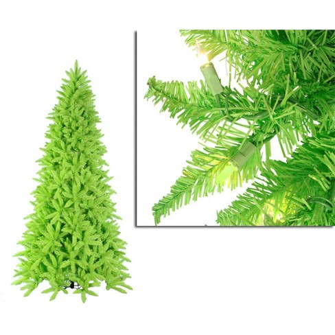 About this item - Vickerman 10' Prelit Artificial Christmas Tree Lime : Target