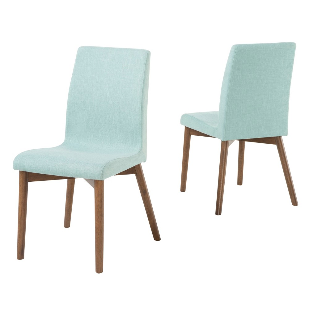 Orrin Dining Chair - Mint (Green) (Set of 2) - Christopher Knight Home