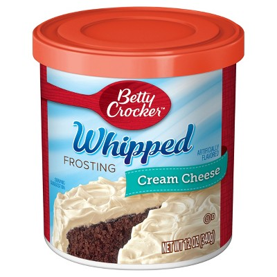 Frosting & Decorations: Betty Crocker Whipped Cream Cheese Frosting
