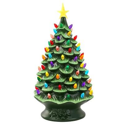 17 new ceramic light up Christmas tree