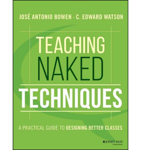 Teaching Naked Techniques : A Practical Guide to Designing Better Classes (Paperback) (Jose Antonio - image 1 of 1