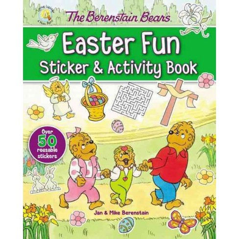 The Berenstain Bears Easter Fun Sticker and Activity Book - (Berenstain Bears/Living Lights) (Paperback) - image 1 of 1