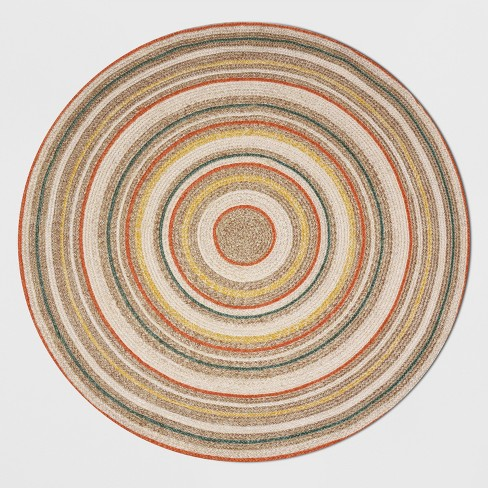 6' Round Circle Braided Outdoor Rug - Opalhouse™ - image 1 of 4