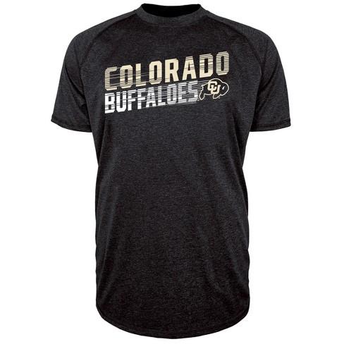 Colorado Buffaloes Men's Short Sleeve Raglan Performance T-Shirt - image 1 of 1