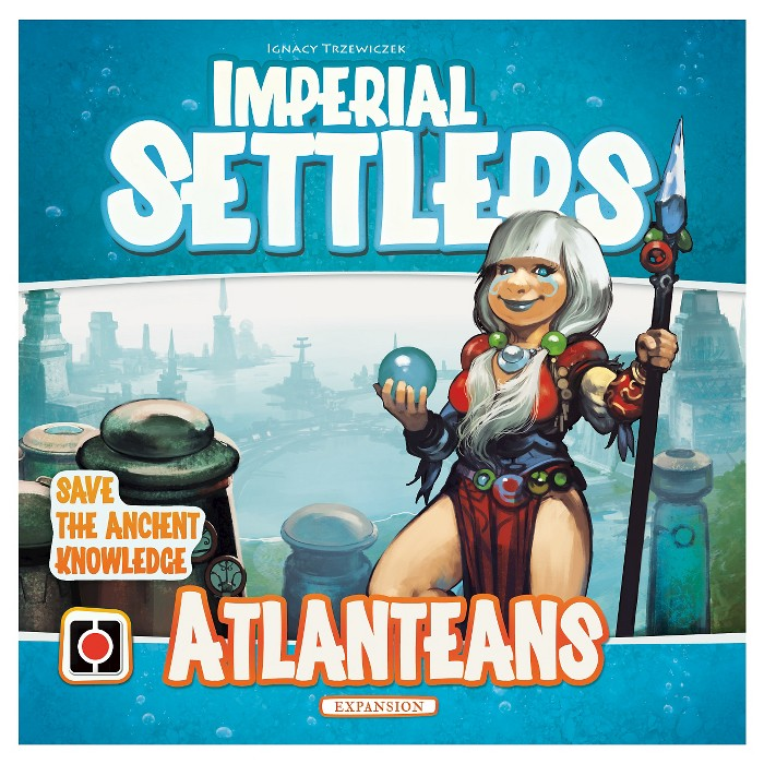 Imperial Settlers Game Atlanteans Expansion Pack : Target