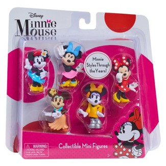 Just Play Minnie Mouse Bowtique Mini Figure Set 5pk
