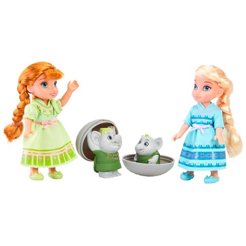 Disney Frozen Petite Surprise Trolls Gift Set - image 1 of 8