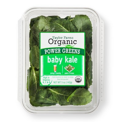 Taylor Farms Organic Baby Kale - 5oz Package