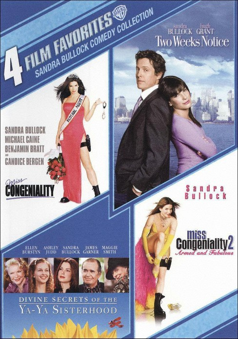Sandra Bullock Comedy Collection: 4 Film Favorites [2 Discs] - image 1 of 1