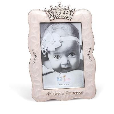 DEMDACO Always a Princess Crown Frame 6 x 8 - Multi