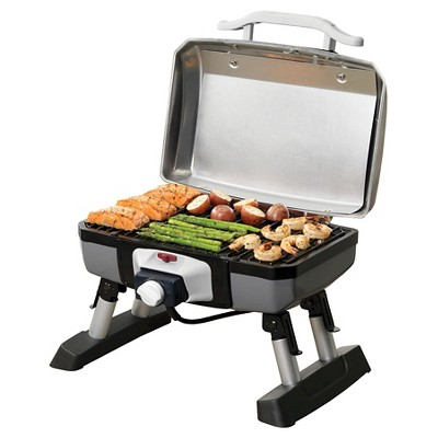 Ordinaire Cuisinart® Outdoor Portable Electric Grill   Silver : Target