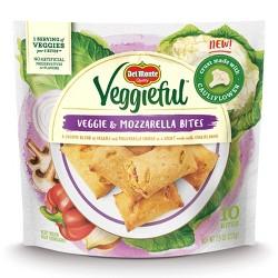 Del Monte Veggieful Veggie and Mozzarella Frozen Bites - 7.5oz