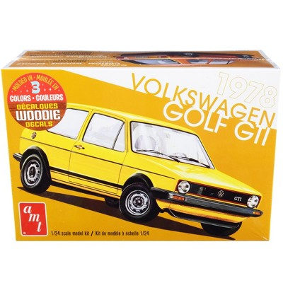 Skill 2 Model Kit 1978 Volkswagen Golf GTI 1/24 Scale Model by AMT
