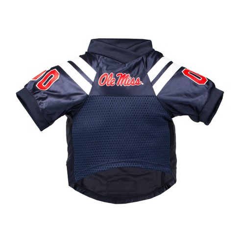 on sale 2de7e a79fb Ole Miss Rebels Little Earth Premium Pet Football Jersey - S