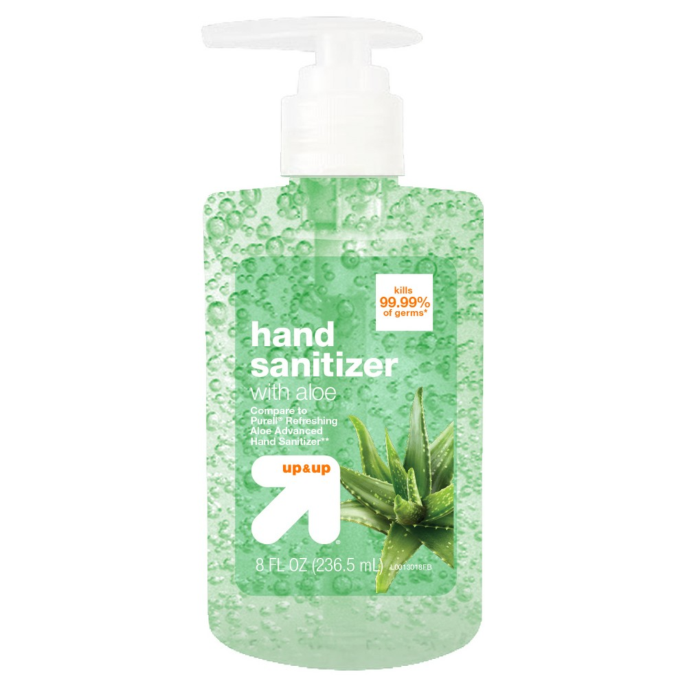 Image of Aloe Hand Sanitizer Gel - 8 fl oz - Up&Up