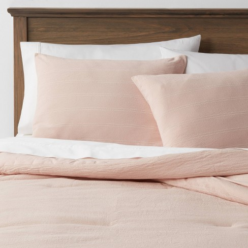 Simple Woven Stripe Comforter & Sham Set - Threshold™ - image 1 of 4