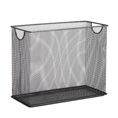 Honey-Can-Do Mesh Tabletop Desk Organizers And Holders Black