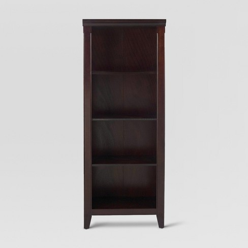 Avington 60 Bookcase Dark Tobacco