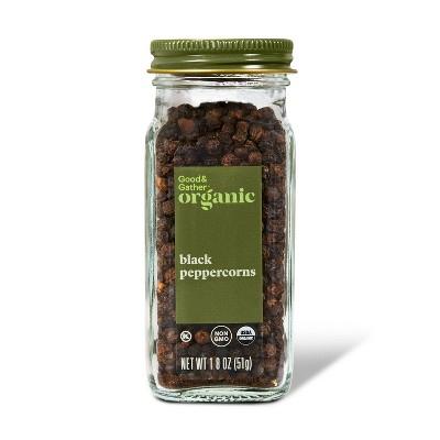 Organic Black Peppercorn - 1.8oz - Good & Gather™
