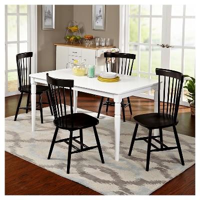Vinturi Dining Set White/Black 5 Piece   TMS : Target
