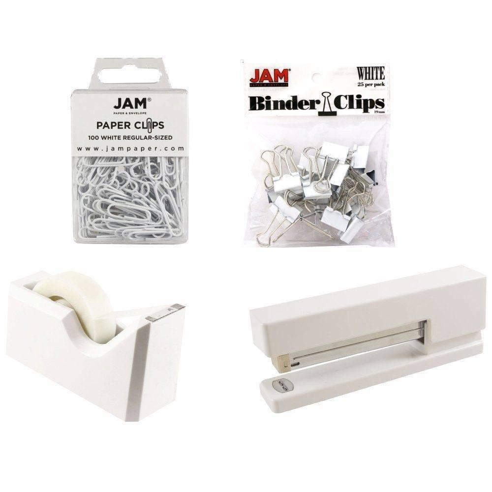 Jam Paper 4pk Office Starter Kit - White Jam Paper 4pk Office Starter Kit - White