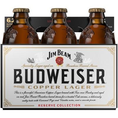 Budweiser Copper Lager Reserve Collection Beer - 6pk/12 fl oz Bottles