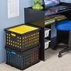 Storage Crate Black - Room Essentials™ - image 2 of 3