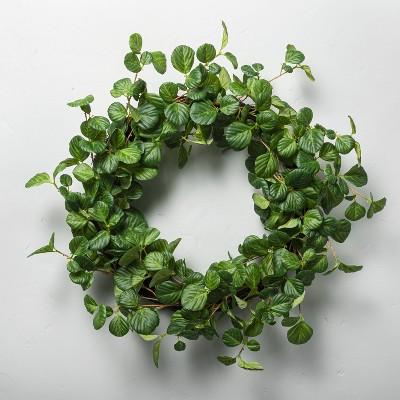 "24"" Faux Hazel Wreath - Hearth & Hand™ with Magnolia"