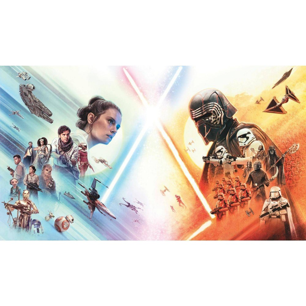 Image of Star Wars: The Rise of Skywalker Peel and Stick Wall Mural - RoomMates