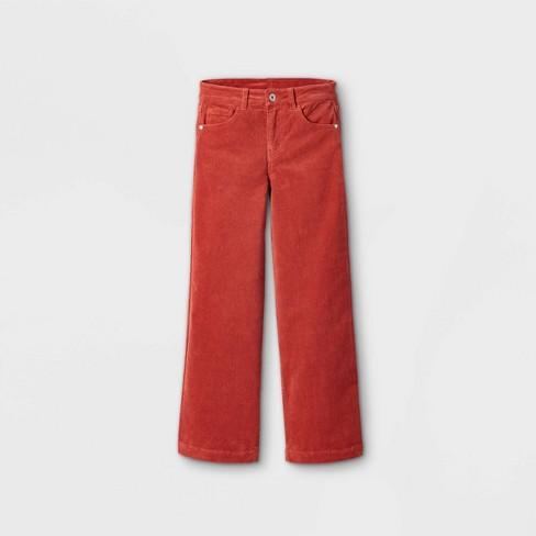 Girls' Wide Leg Corduroy High-Rise Jeans - art class™ - image 1 of 3