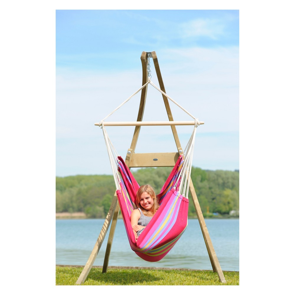 Image of Atlas Wood Hanging Chair Stand - Byer of Maine