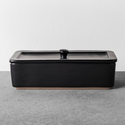 Bathroom Tray with Lid - Black - Hearth & Hand™ with Magnolia