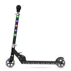 Jetson Jupiter Kids' Kick Scooter with LED Lights - Black
