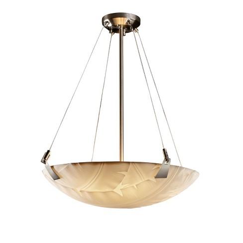 """Justice Design Group PNA-9642-35-BANL Porcelina 24"""" Round Bowl Pendant - image 1 of 1"""