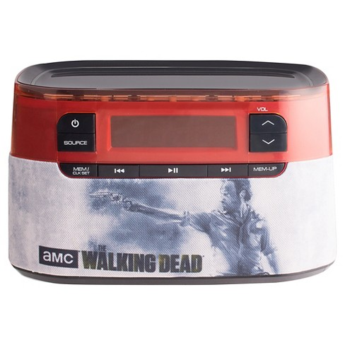 The Walking Dead® CR3-01701 Bluetooth Clock Radio - image 1 of 2