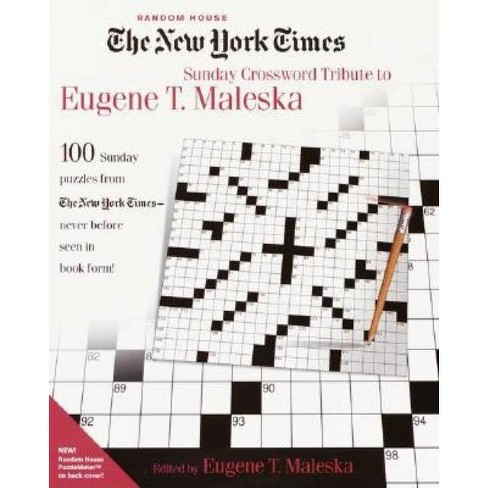 The New York Times Sunday Crossword Tribute to Eugene T. Maleska - (Paperback) - image 1 of 1