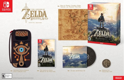 The Legend of Zelda™: Breath of the Wild™ Special Edition Nintendo Switch - image 1 of 6