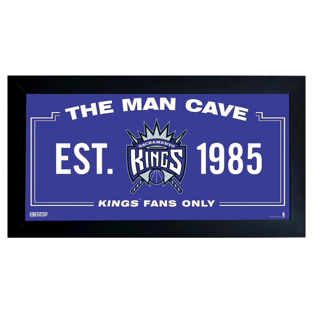 NBA Steiner Sports 6x12 Man Cave Signs - Sacramento Kings