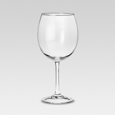Modern Red Wine Glasses 20.5oz Set of 4 - Threshold™