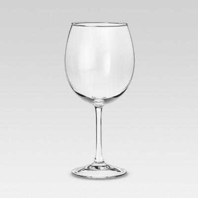 Modern Red Wine Glasses 205oz Set Of 4