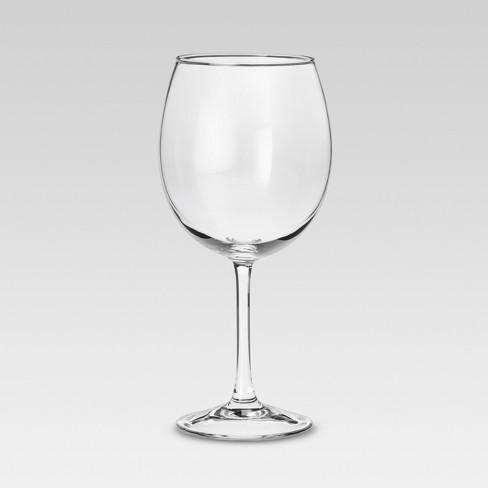 modern red wine glasses set of 4 threshold target. Black Bedroom Furniture Sets. Home Design Ideas