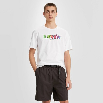 Levi's® Men's Logo Crewneck T-Shirt - Snowy White