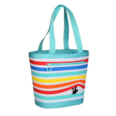 Evergreen 12 Can Tote Cooler - Peeking Mickey Mouse