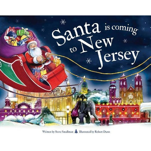 Santa Is Coming to New Jersey - (Santa Is Coming...) 2 Edition by  Steve Smallman (Hardcover) - image 1 of 1