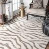 nuLOOM 100% Wool Radiant Zebra Area Rug - image 2 of 2